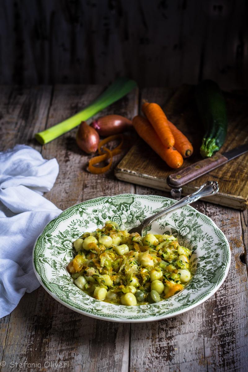 Gnocchi zucchine e carote senza glutine - Cardamomo & co