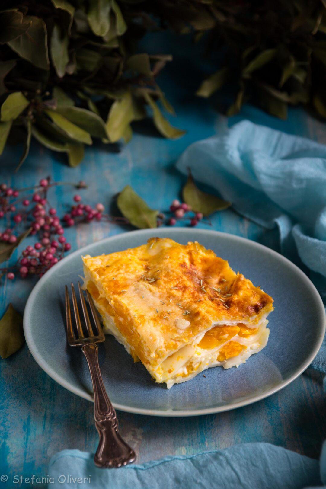 Lasagne alla zucca senza glutine - Cardamomo & co