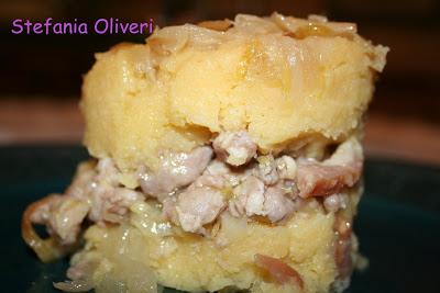 Polenta salsiccia e cipolle - Cardamomo & co