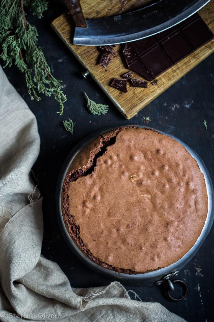 Torta Facile al Cioccolato senza glutine - Cardamomo & co
