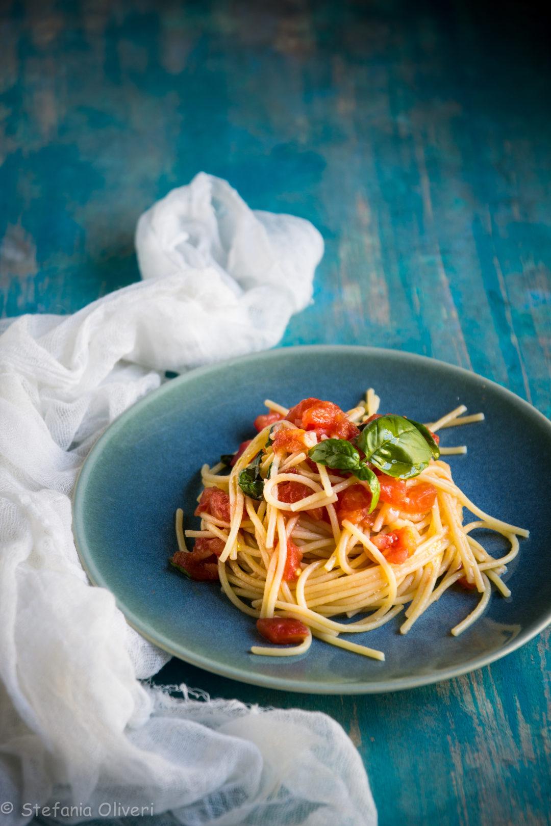 Spaghetti picchio pacchio senza glutine - Cardamomo & co