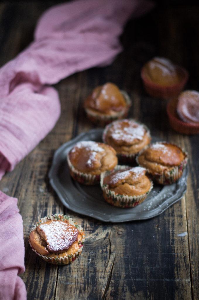 Muffin con castagne e miele - Cardamomo & co