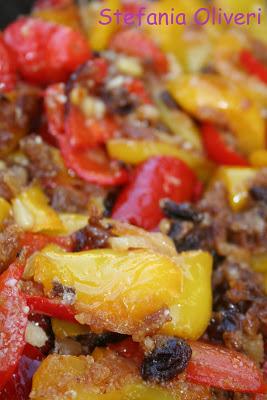 Peperoni con la mollica, siciliani - Cardamomo & co