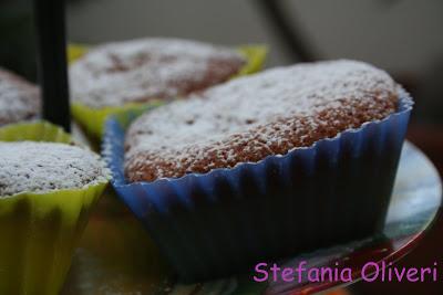 Muffin al cioccolato bianco senza glutine - Cardamomo & co
