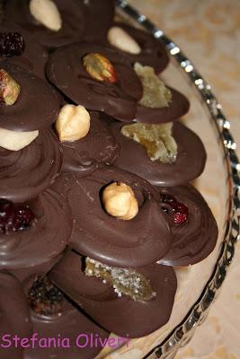 Mendiant cioccolatini francesi facili - Cardamomo & co