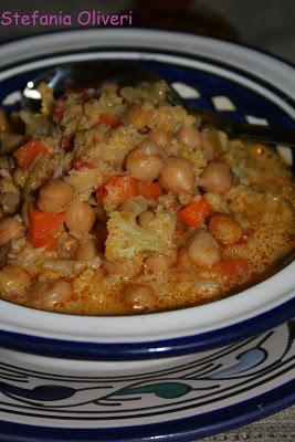 Curry di Cavolfiore e Ceci - Cardamomo & co