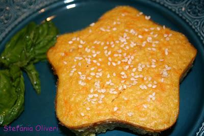 Tortino di miglio e zucca senza glutine - Cardamomo & co