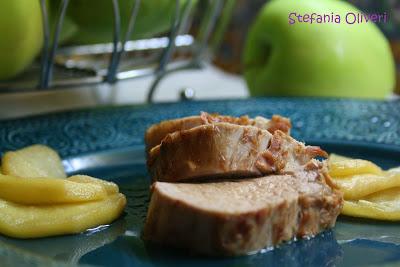 Medaglioni di filetto di maiale alle mele verdi - Cardamomo & co