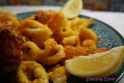 Calamari al forno - Cardamomo & co