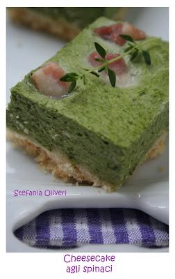 Cheesecakes salati senza glutine agli spinaci - Cardamomo & co