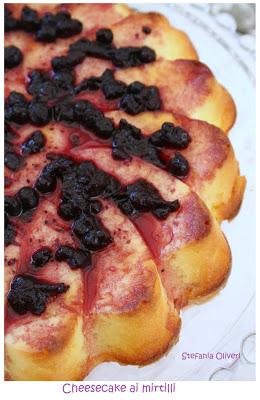 cheesecake ai mirtilli cotta senza glutine