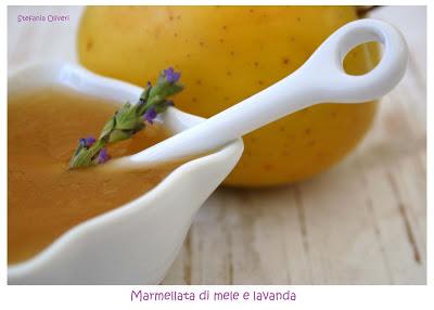 Marmellata mele e lavanda - Cardamomo & co
