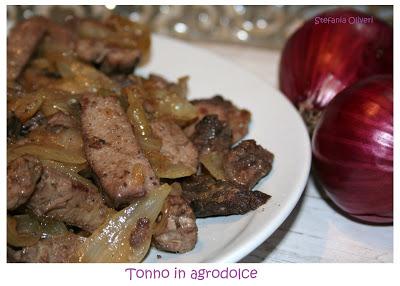 Tonno in agrodolce siciliano - Cardamomo & co