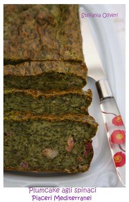 plumcake agli spinaci senza glutine
