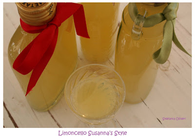 limoncello fatto in casa - Cardamomo & co
