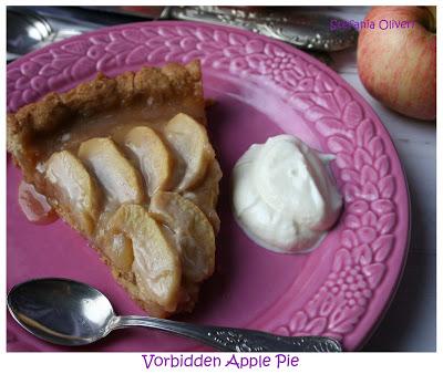 Crostata di mele con crema toffee - Cardamomo & co