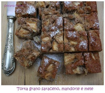 Torta di grano saraceno e mele - Cardamomo & co
