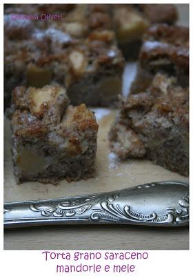 Torta di grano saraceno e mele