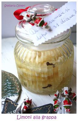 Limoni alla grappa - Cardamomo & co