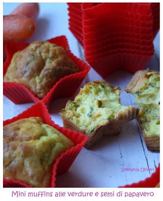 Muffins salati alle verdure - Cardamomo & co