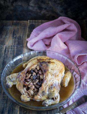 Pollo ripieno senza glutine - Cardamomo & co