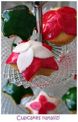 cupcake natalizi senza burro e glutine - Cardamomo & co