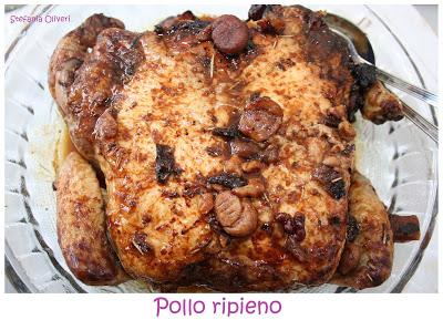 Pollo ripieno con castagne e frutta secca - Cardamomo & co