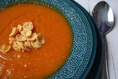 Zuppa di carote e grano saraceno