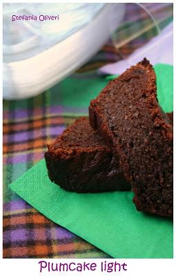 plumcake light senza burro al cioccolato - Cardamomo & co
