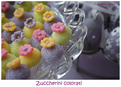 zuccherini colorati - Cardamomo & co