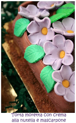 Torta moretta senza glutine con crema al mascarpone - Cardamomo & co