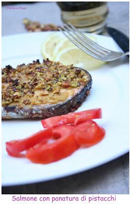 Salmone ai pistacchi - Cardamomo & co