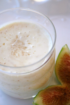 Smoothie ai fichi freschi - Cardamomo & co