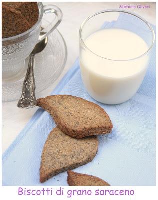 Biscotti grano saraceno e farina di riso - Cardamomo & co
