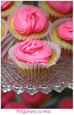 Cupcakes con semi di papavero rumeni - Cardamomo & co