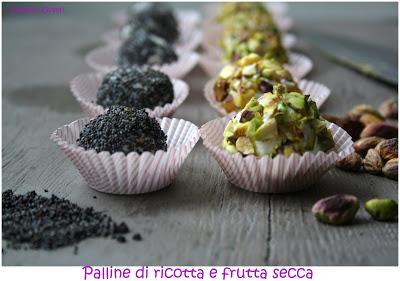 palline di ricotta con frutta secca _ Cardamomo & co