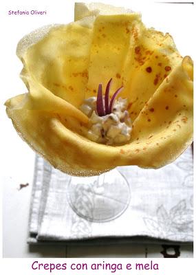 Crêpe con aringa e mela senza glutine - Cardamomo & co