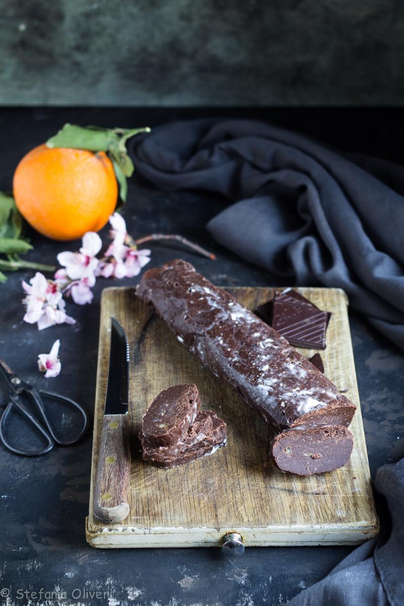 Rondelle di cioccolato all'arancia e mandorle - Cardamomo & co