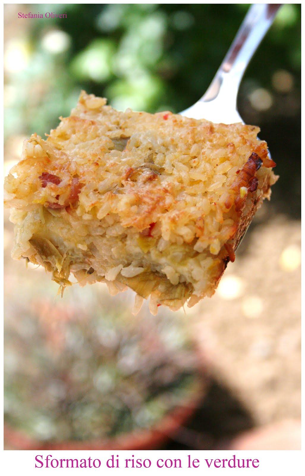 Sformato di riso alle verdure - Cardamomo & co