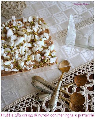 Trifle senza glutine alla cremadi Nutella con meringhe e pistacchi - Cardamomo & co