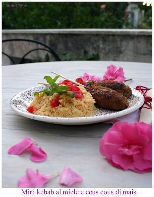 Kebab con cous cous senza glutine - Cardamomo & co