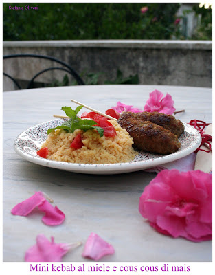 Kebab con cous cous
