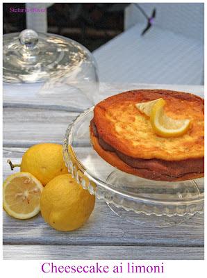 Cheesecake ai limoni