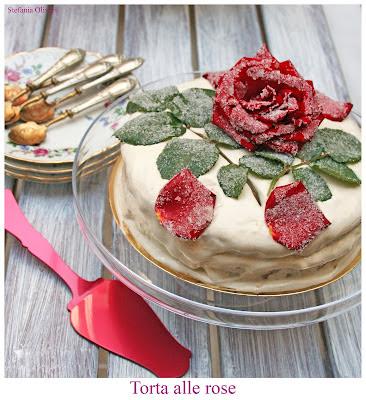 Torta alle rose senza glutine - cardamomo & co