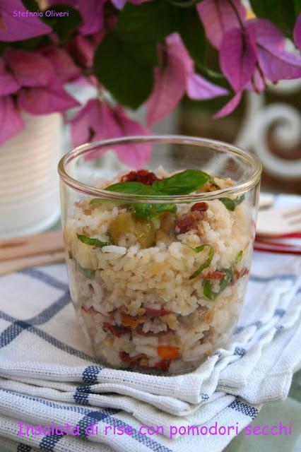 Insalata di riso con bottarga e pomodori secchi - Cardamomo & co