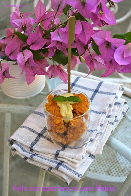 pollo croccante al forno con corn flakes - Cardamomo & co