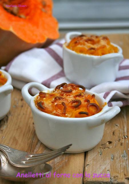 Anelletti con la zucca con besciamelle al forno - Cardamomo & co