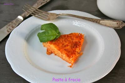 Pasta frocia, ricetta tipica siciliana - Cardamomo & co