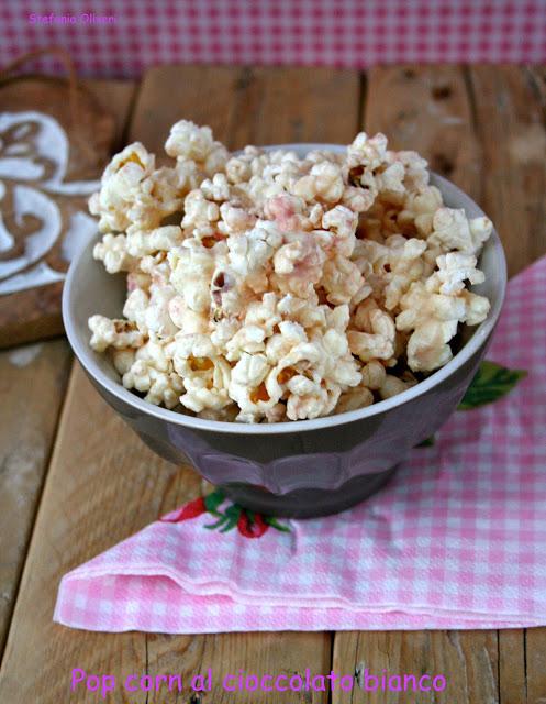 Pop corn al cioccolato bianco - Cardamomo & co