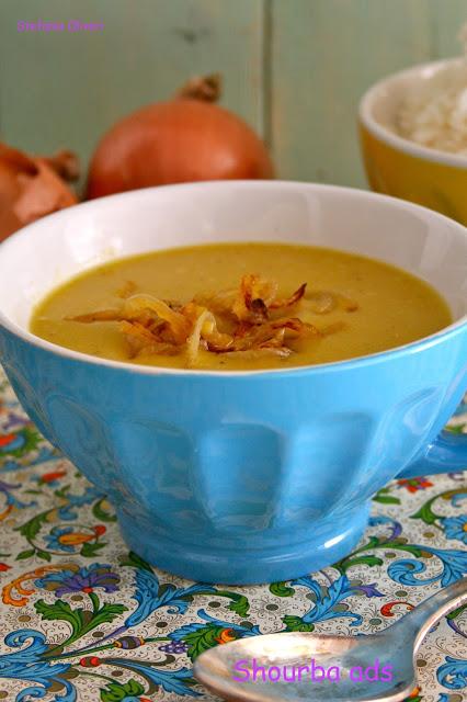 Shourbaadsovvero zuppa di lenticchie rosse - Cardamomo & co